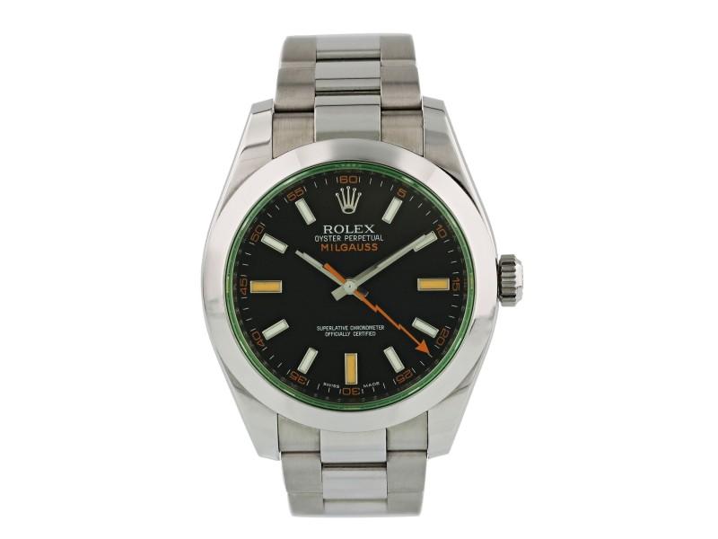 Rolex Milgauss 116400GV Mens Watch