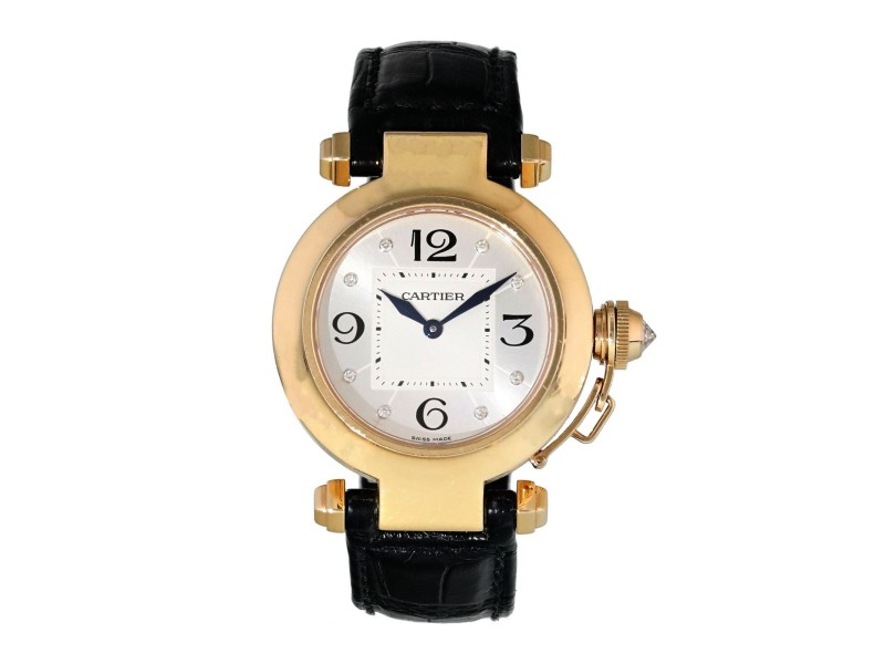 Cartier Pasha 2812 / WJ11913G  Ladies Watch