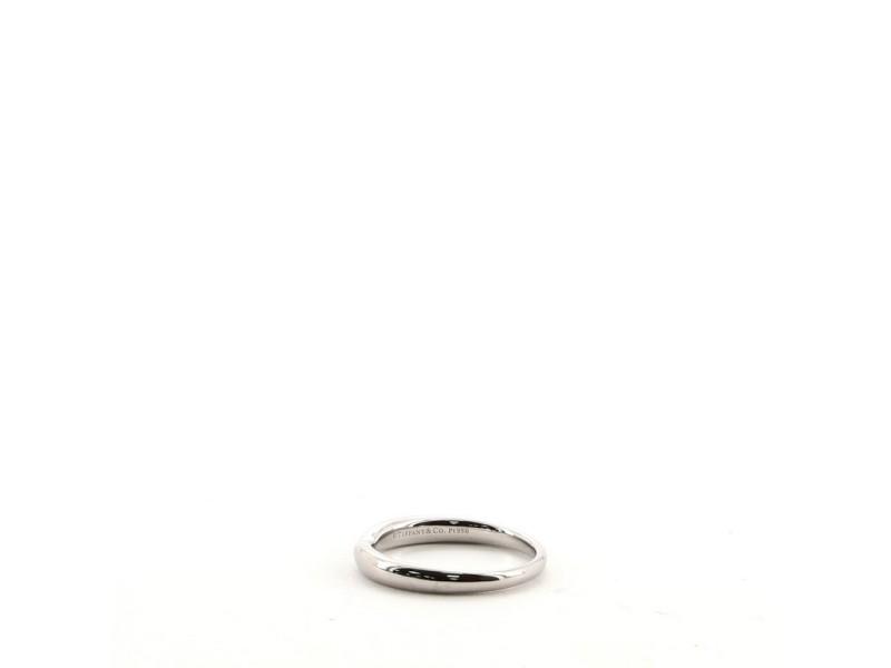 Tiffany & Co. Harmony Wedding Band Ring Platinum
