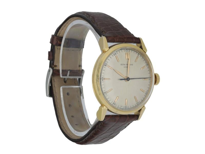 Patek Philippe 1578 Vintage 18K Yellow Gold Men's Watch