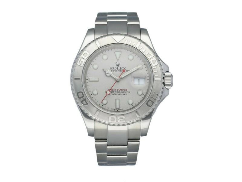 Rolex Yacht-Master 16622 Platinum Bezel Men's Watch