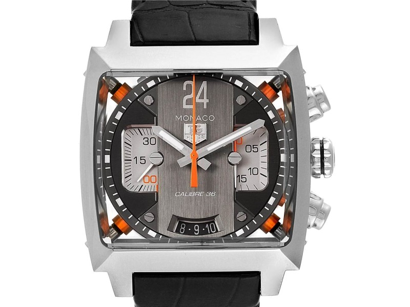 Tag Heuer Monaco Twenty Four Chronograph Mens Watch CAL5112