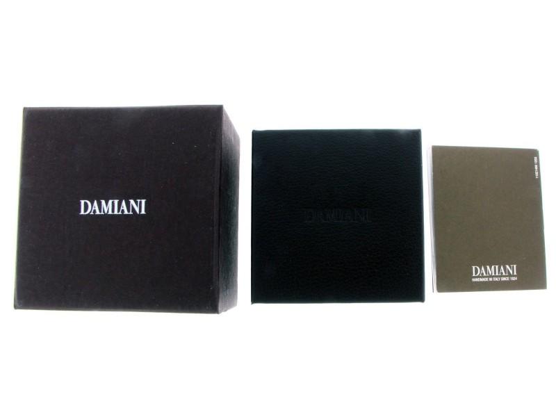 Damiani 18K White Gold Diamond Ring