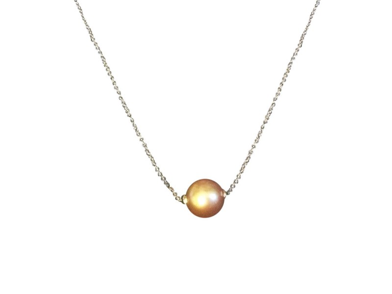 Bliss by Damiani 18K White Gold 'Evergreen Rolling' Pearl ...