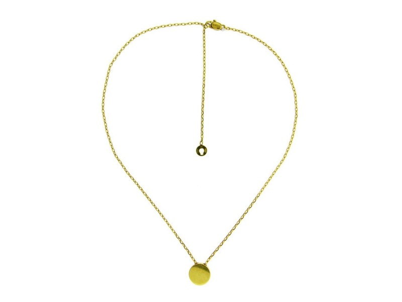 Damiani 18K Yellow Gold Diamond Necklace