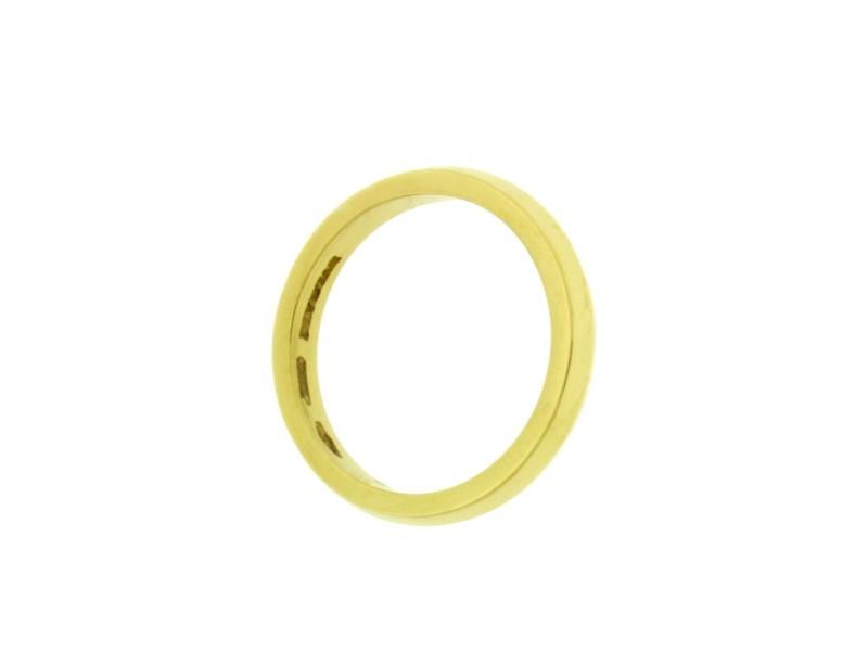Bulgari 18K Yellow Gold Wedding Ring Size 7