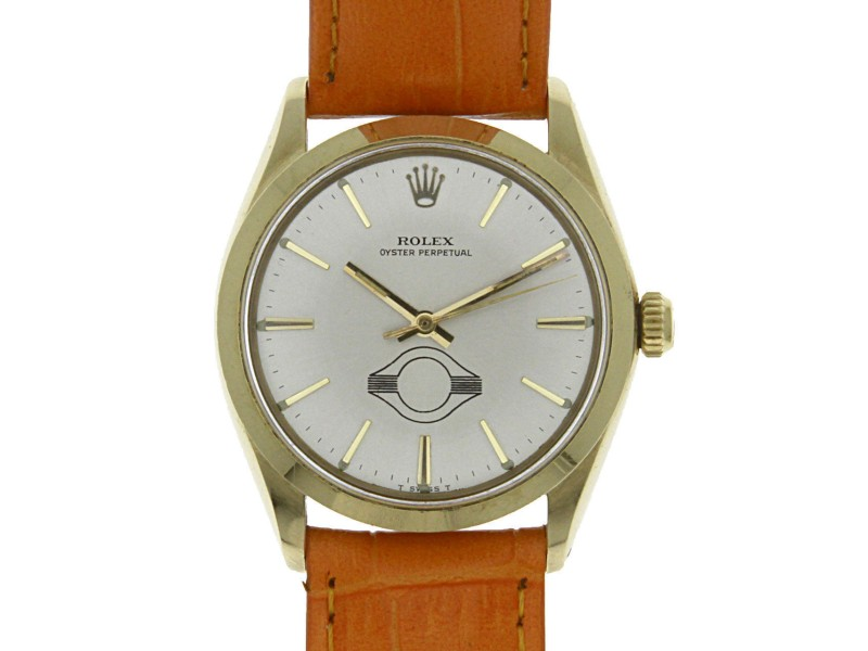 Rolex Oyster Perpetual Vintage 34mm Mens Watch