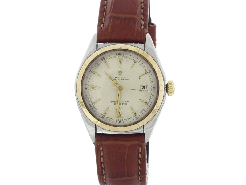 Rolex Oyster Perpetual Bubble Back 5031 36mm Vintage Mens Watch
