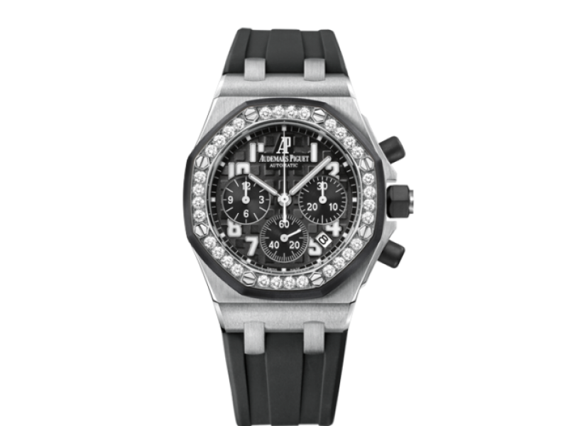 Audemars Piguet Offshore 26048SK.ZZ.D002CA.01 37mm Womens Watch