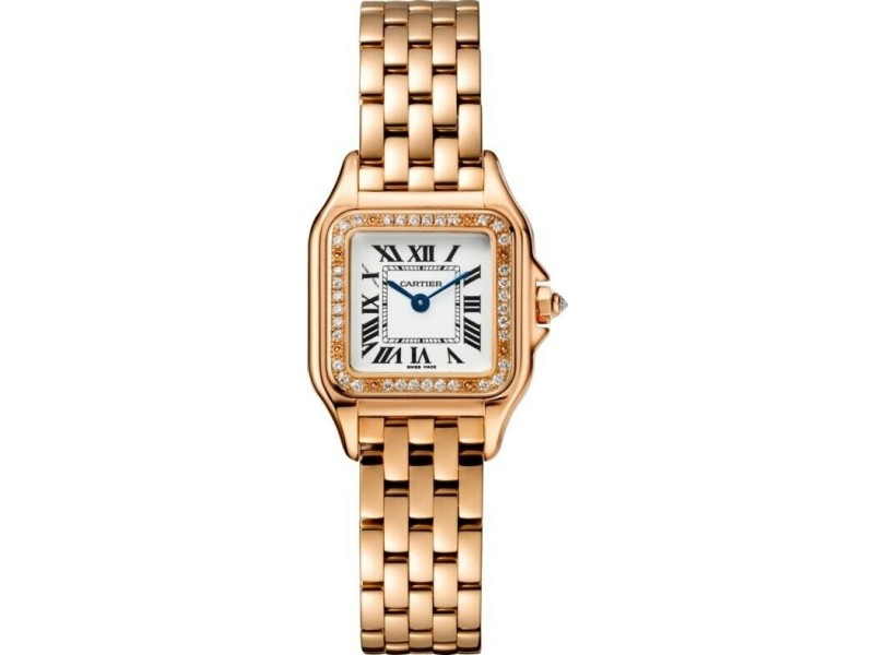Cartier Panthere WJPN0008 Small Size Pink Gold Watch Box Papers