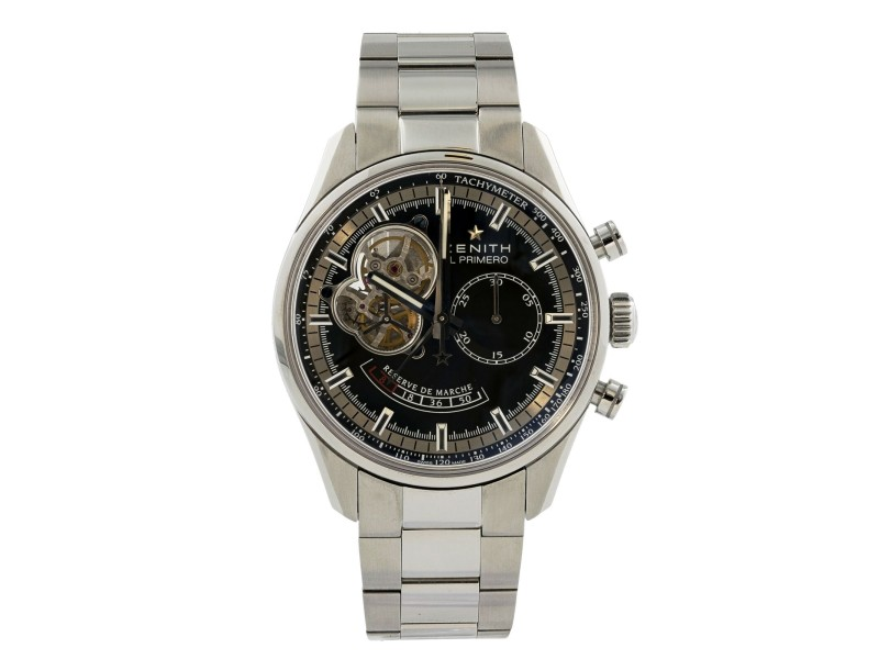 Zenith El Primero Chronomaster 03.2080.4021/21 Mens Watch With Papers