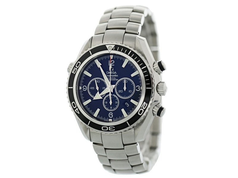 Omega Seamaster Planet Ocean 2210.50.00 600M Co-Axial Mens Watch With Papers