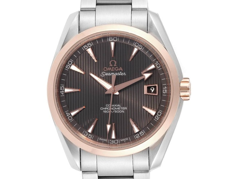Omega Seamaster Aqua Terra Steel Rose Gold Watch 231.20.42.21.06.002