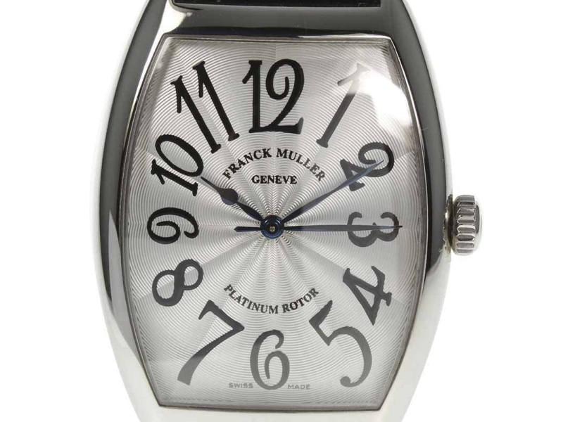 Franck Muller Tonneau Carbex 6850SC 34mm Mens Watch