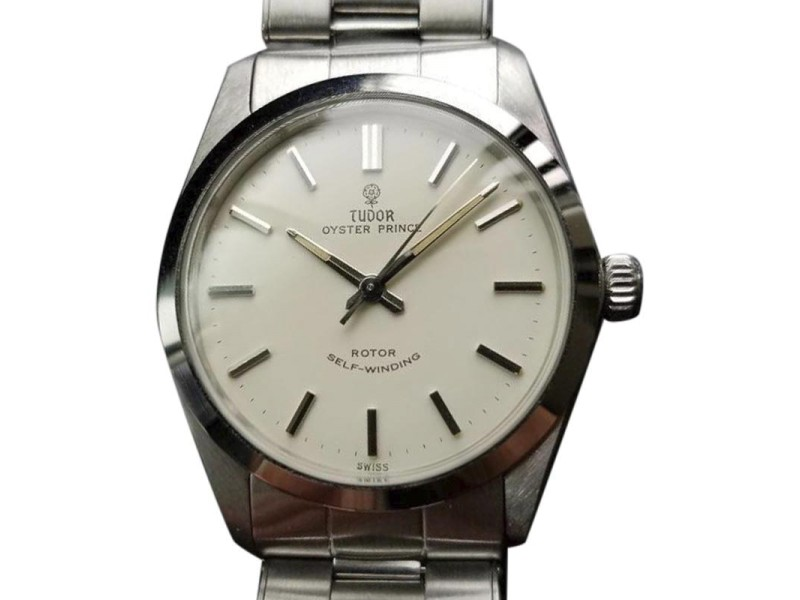 Tudor Oyster Prince 7965 Vintage 34mm Mens Watch
