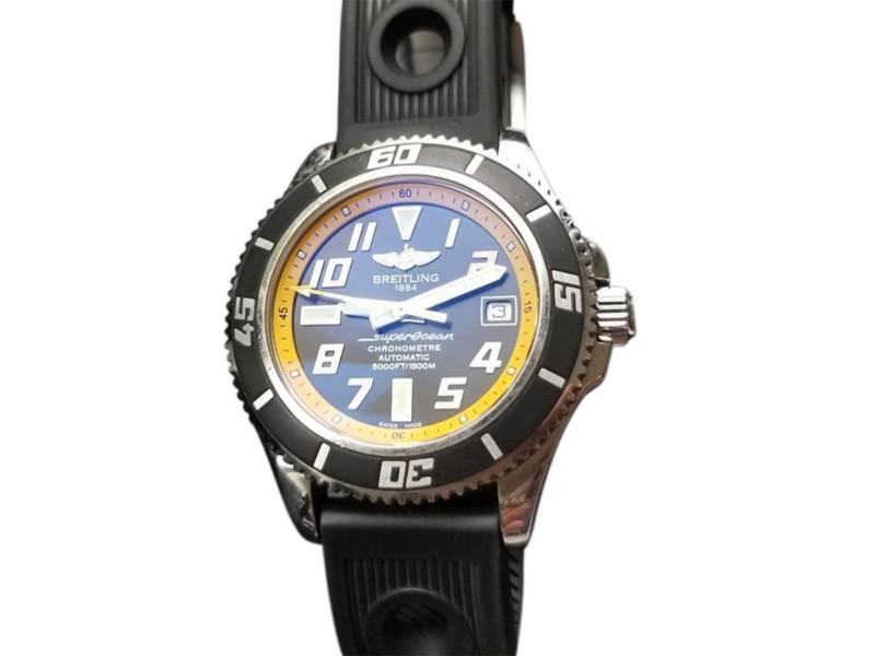 Breitling Superocean II A17364 42mm Mens Watch