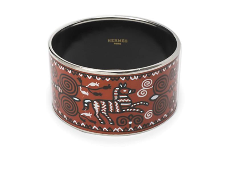 Hermes Vintage Cloisonne Enamel Bracelet
