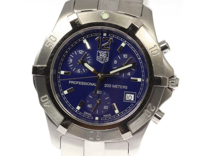 Tag Heuer Professional CN1112 38mm Mens Watch
