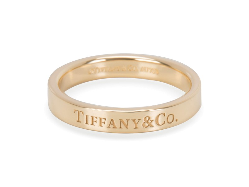 Tiffany & Co. 18K Yellow Gold Ring Size 6.25