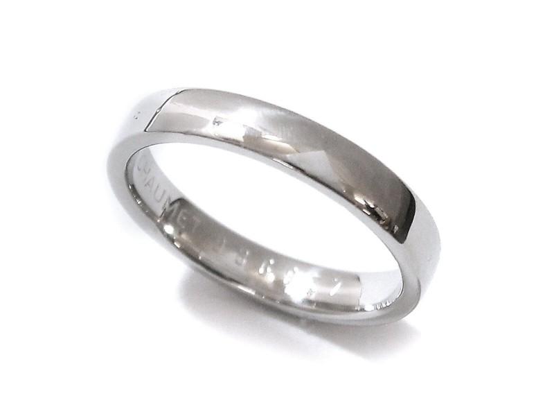Chaumet Platinum Eternel Ruban Rings Size 7.5