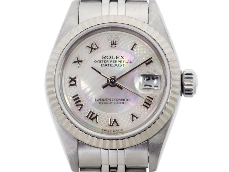 Rolex Datejust 79174NRD 26mm Womens Watch