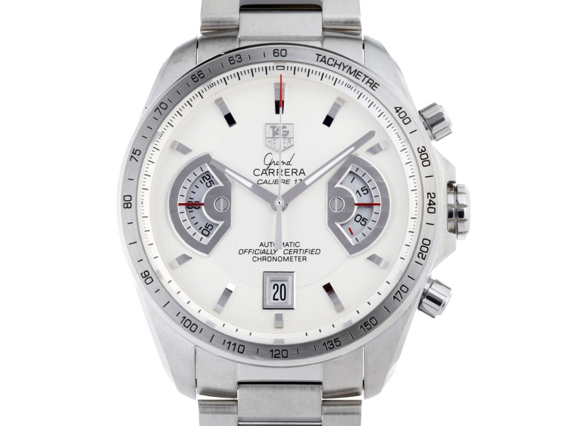 Tag Heuer Grand Carrera CAV511B.BA0932 43mm Mens Watch