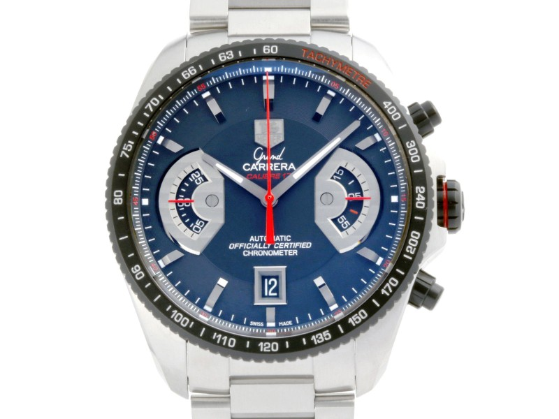 Tag Heuer Grand Carrera CAV511C 43mm Mens Watch