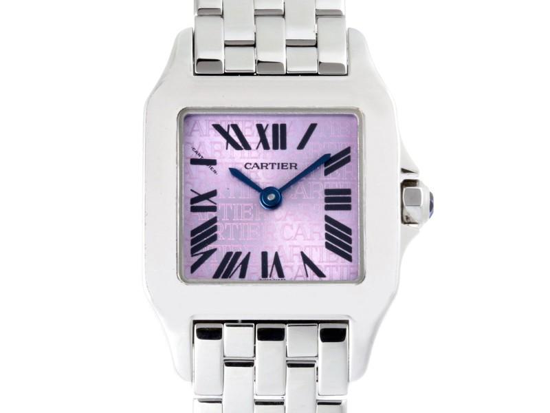 Cartier Santos Demoiselle W2510002 20mm Womens Watch