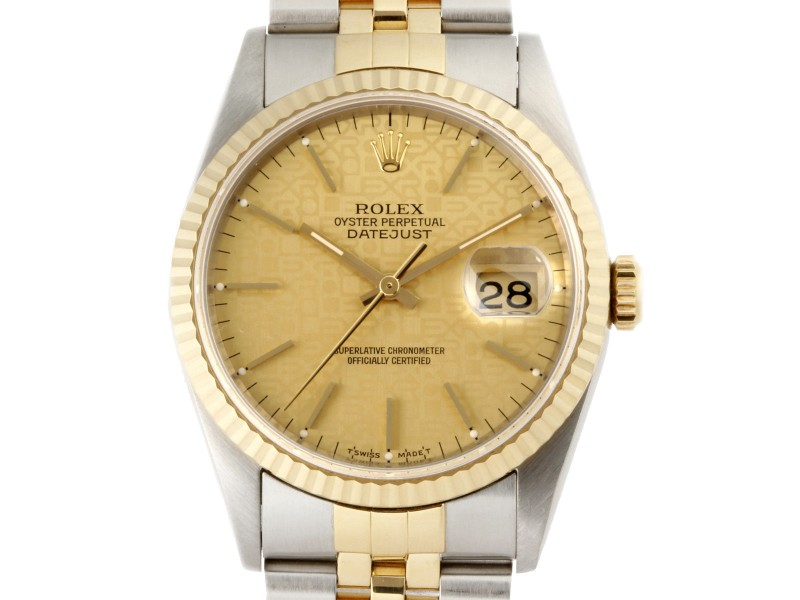 Rolex Datejust 16233 35mm Mens Watch