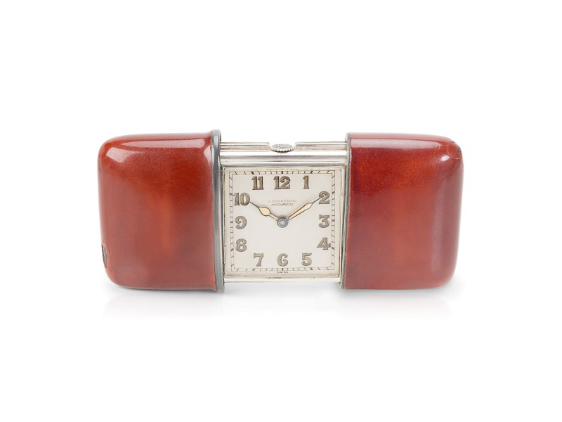 Movado Ermeto 150MN Unisex Watch in Sterling Silver
