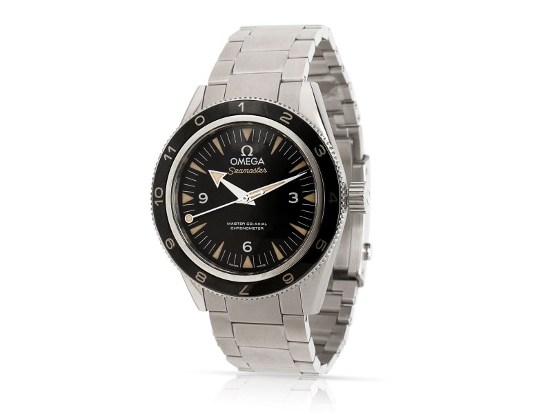 Omega Seamaster 300 SPECTRE 233.32.41.21.01.001 Men's Watch in Stainless Steel