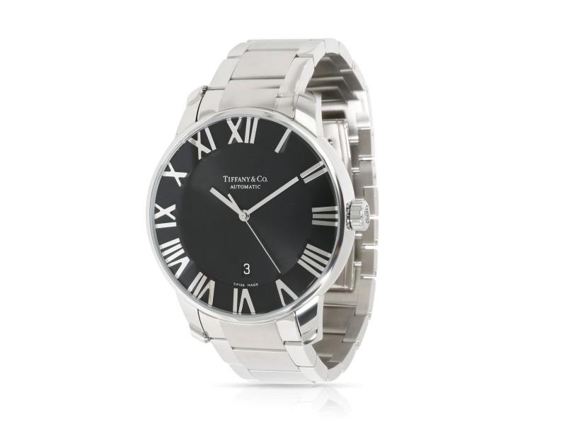 Tiffany & Co. Atlas 3-Hand Z1810.68.10A.00A Men's Watch in  Stainless Steel