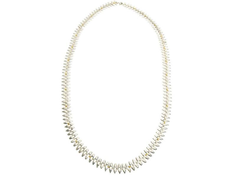 Gurhan Sunflower Necklace in Sterling Silver