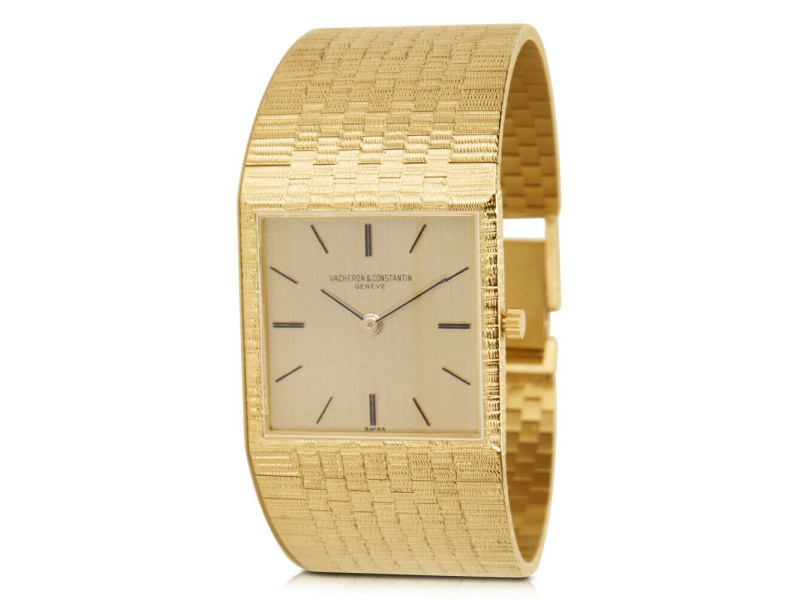 Vacheron Constantin Dress 6908 Unisex Watch in 18K Yellow Gold