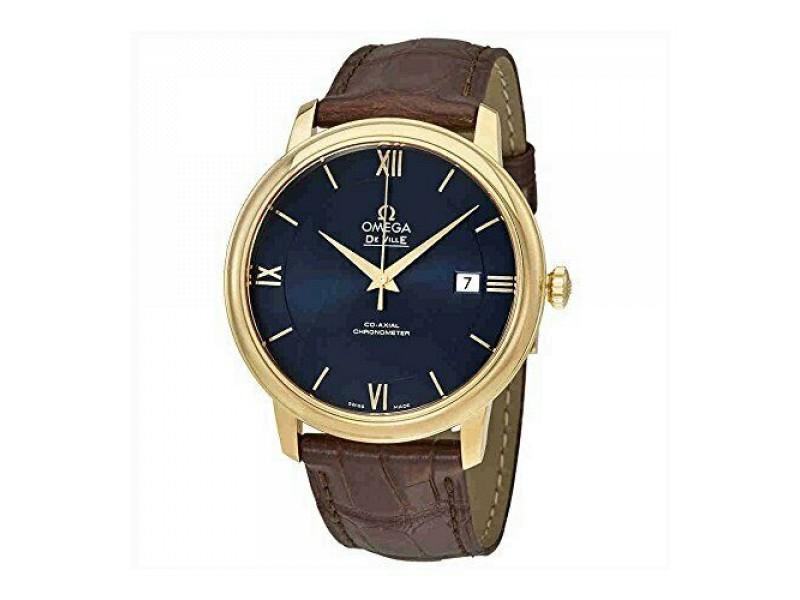 Omega De Ville Prestige Co-Axial Automatic Blue Dial Unisex Watch 424.53.40.20.0