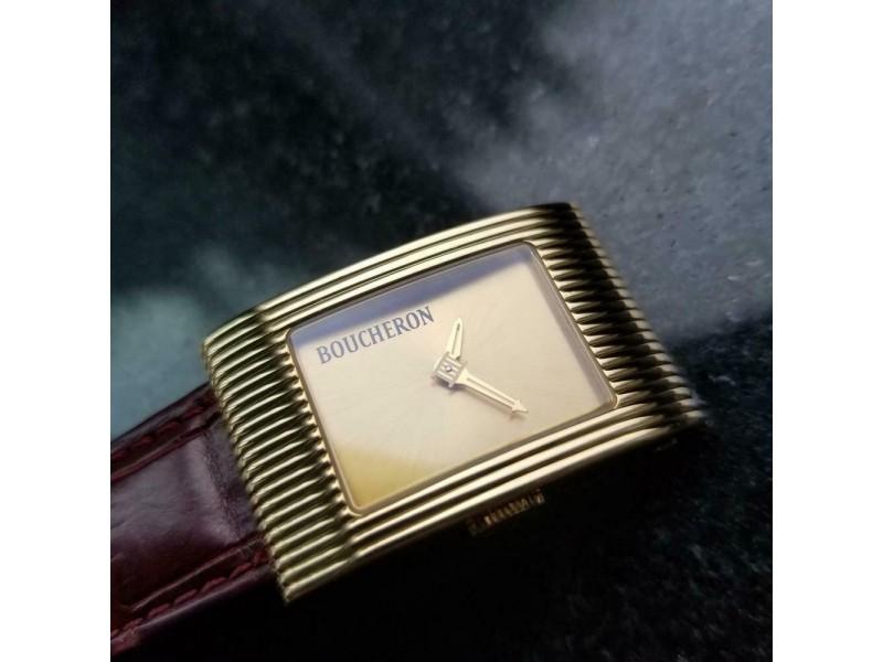 Ladies Boucheron Reflet 21mm 18k Gold Limited Edition Dress Watch, c.2010 GG48