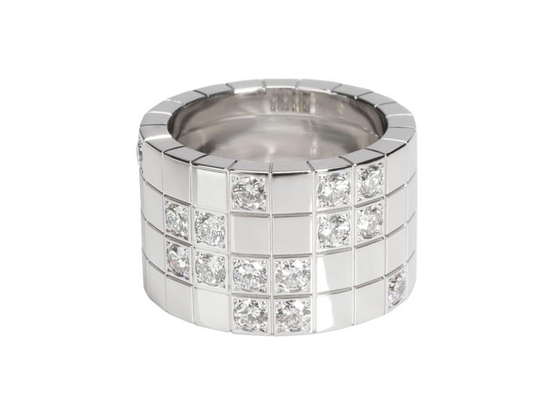 Cartier Lanieres Diamond Ring in 18K White Gold 1.00 CTW