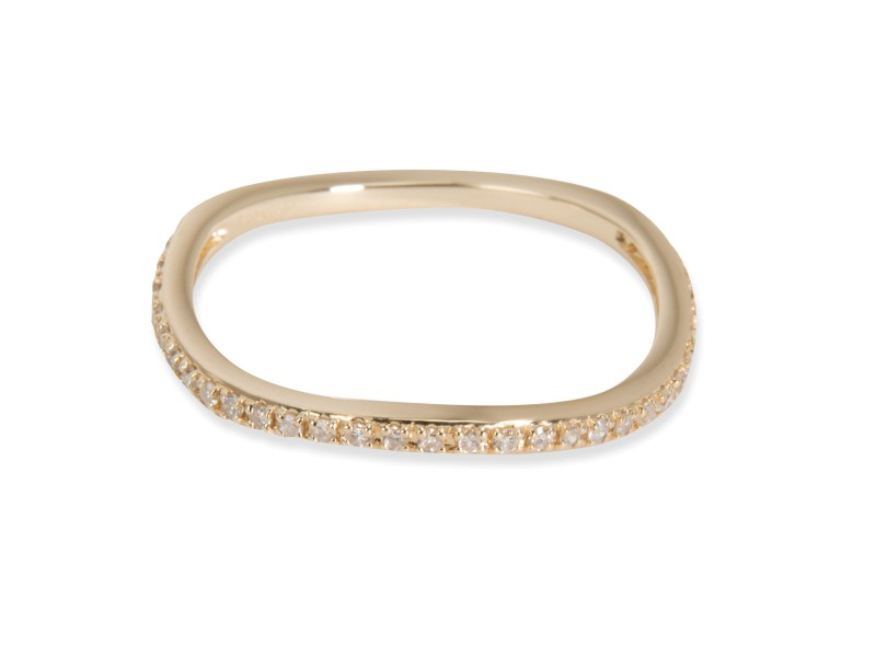 Square Diamond Wedding Band in 14K Yellow Gold (0.16 CTW)
