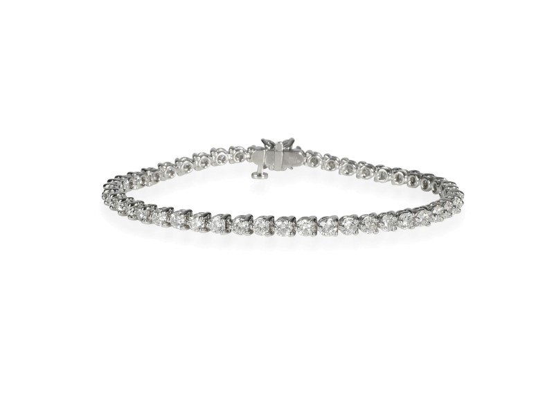 Tiffany & Co. Victoria Bracelet in  Platinum 4.49 CTW