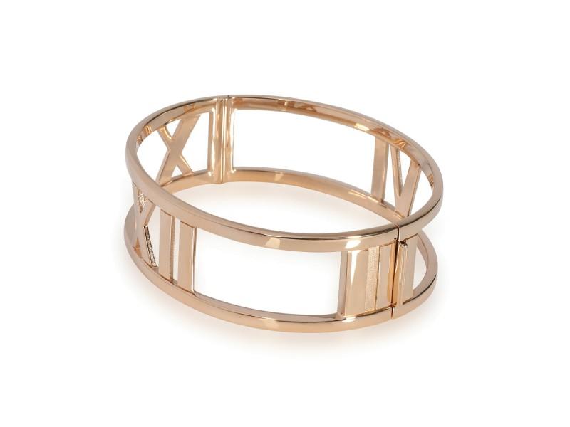 Tiffany & Co. Wide Atlas Bangle in 18K Rose Gold