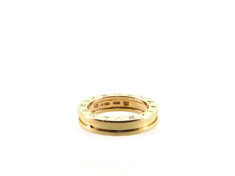 Bvlgari B.Zero1 One Band Ring 18K Yellow Gold 6 - 52