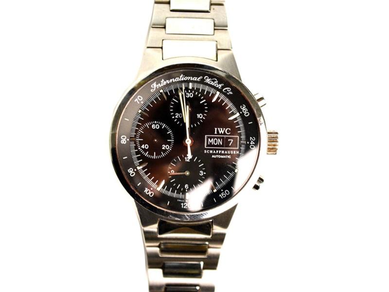 IWC Schaffhausen 3707 GST Chronograph Watch