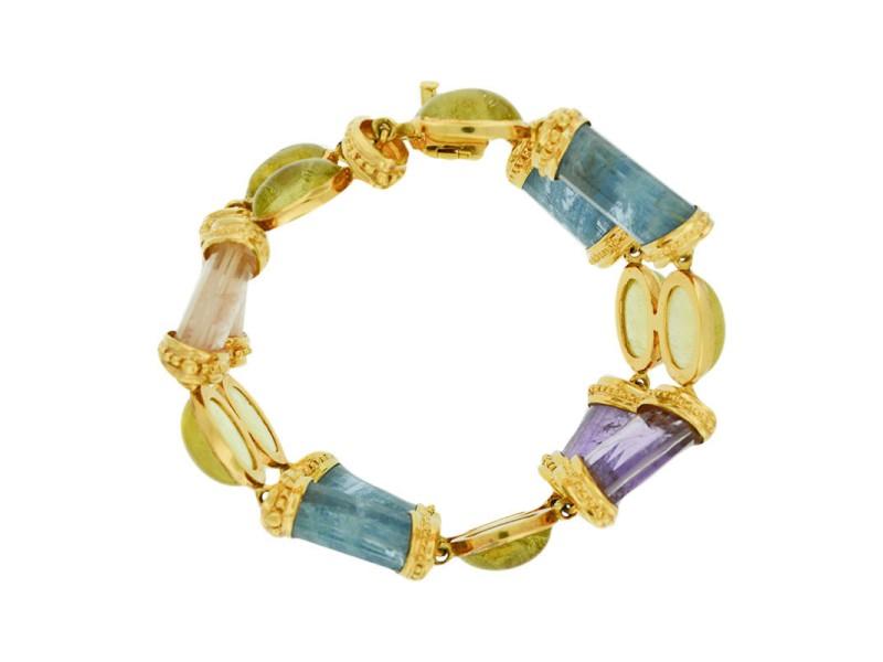 Laura Munder 18K Yellow Gold Bracelet