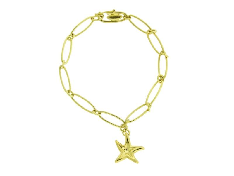 Elsa Peretti 18k Yellow Gold Starfish Bracelet