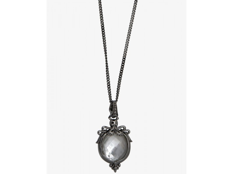 Stephen Webster 925 Sterling Silver Jewels Verne White Crystal Haze Octopus Necklace