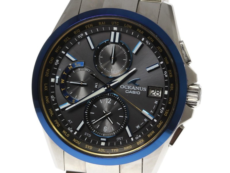 Casio Oceanus Classic OCW-T2600 41mm Mens Watch