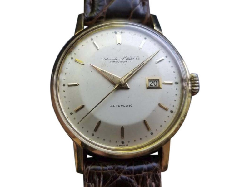 IWC Vintage 34mm Mens Watch