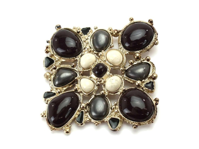 Chanel Silver Tone Metal Bijou Pendant