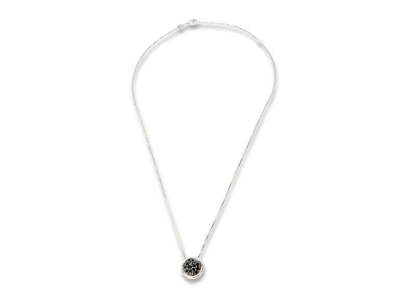 John Hardy Bamboo Sterling Silver Sapphire Necklace