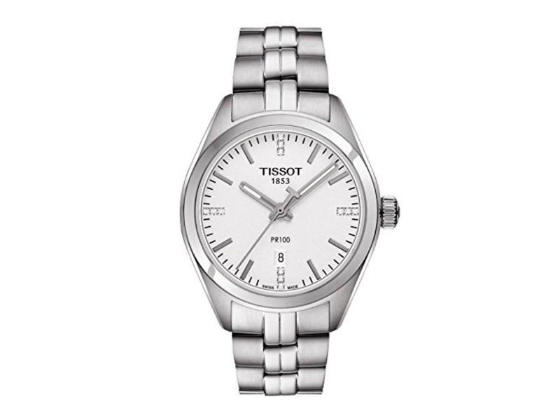 Tissot PR 100 T1012101103100 33mm Womens Watch